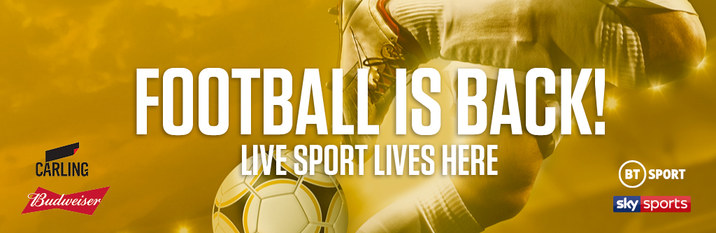 Watch live football at The Palace